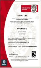 ISO 9001:2015 INMETRO - BRASIL