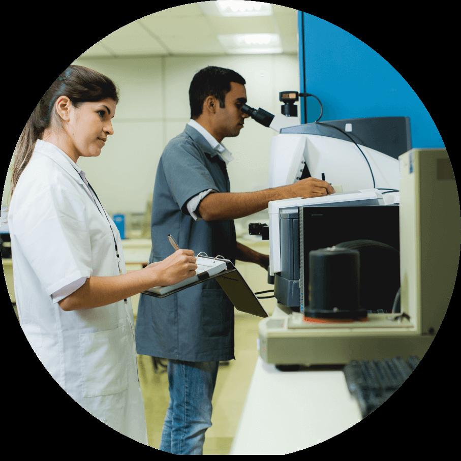 Todos os desenvolvimentos passam pelo crivo de um Laboratório de Testes de última geração;
