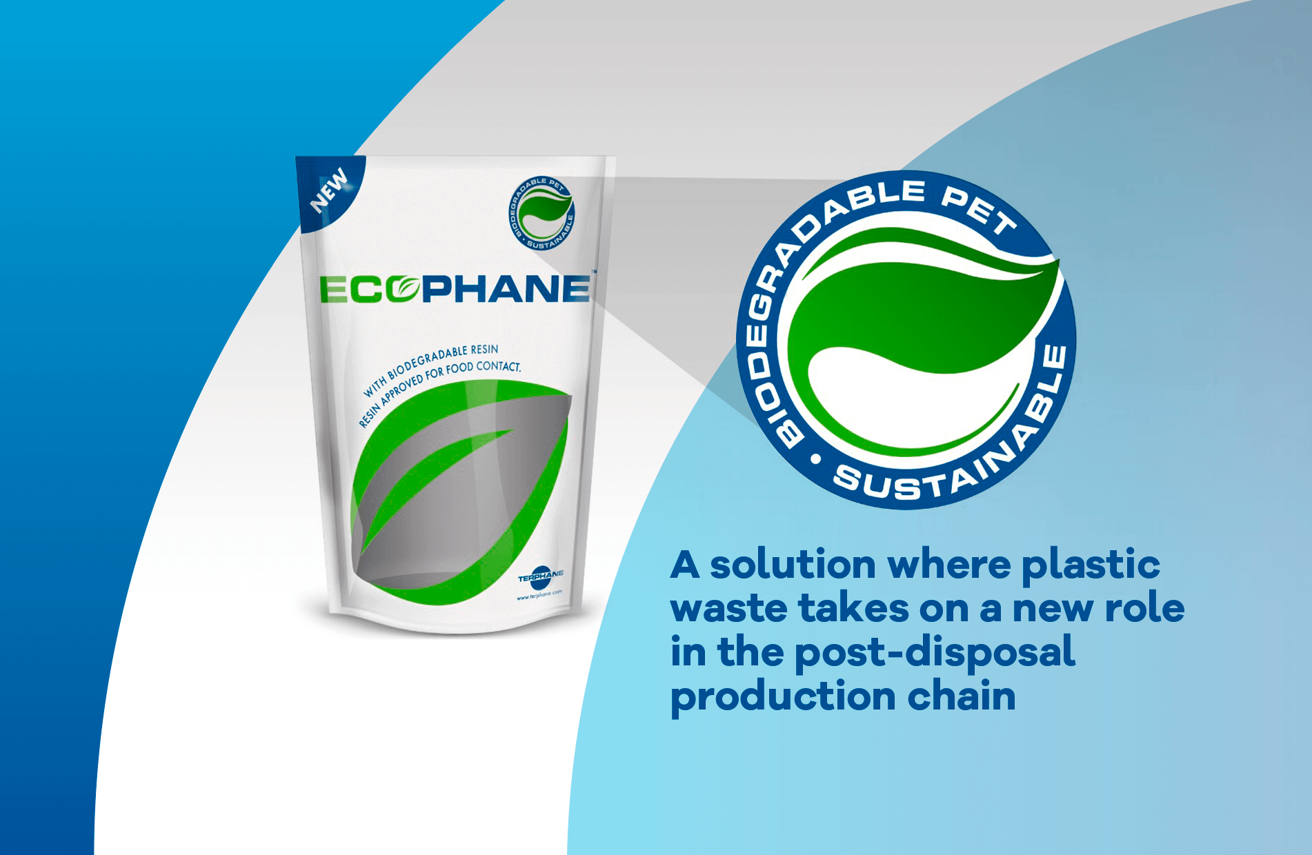 A solution where plastic waste takes on a new role in the post-disposal production chain
